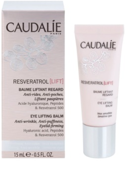 Caudalie Resveratrol [Lift] Firming Eye Balm To Treat Wrinkles, Swelling And Dark Circles